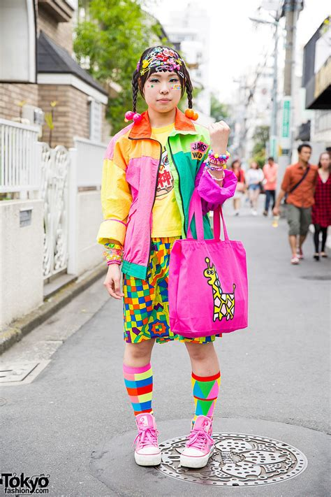 colorful harajuku decora street style w 6 dokidoki jams