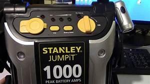Stanley Jumpit Air Compressor Test