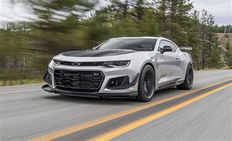 2018 Chevrolet Camaro Zl1 1le First Drive
