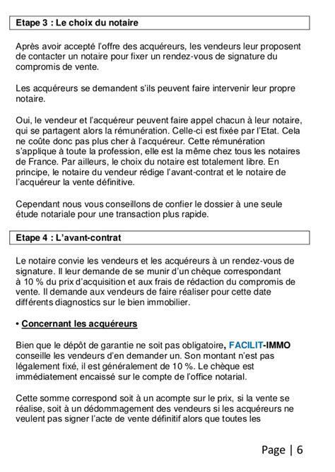 COMPROMISE DE VENTE IMMOBILIER EPUB | Pdf Place.