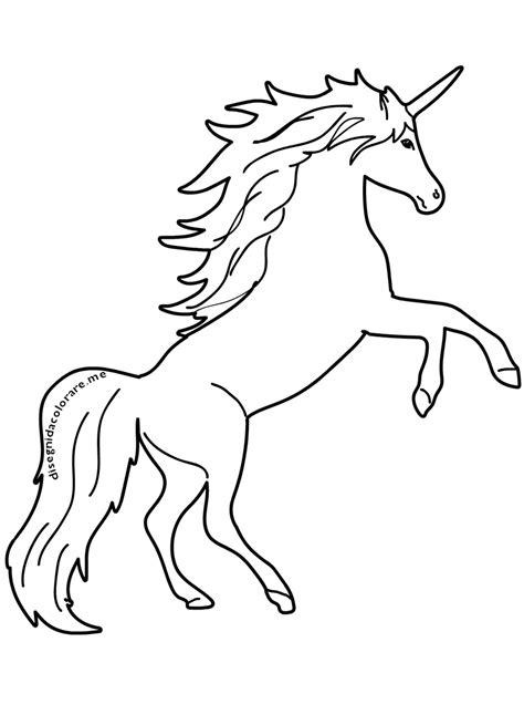 disegni kawaii facilissimi unicorni unicorno disegni per bambini da colorare disegni da colorare