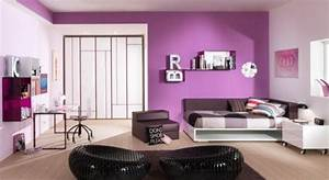 Make Your Girls Feels Queen With Adding Purple Bedroom