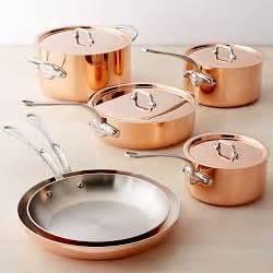 copper cookware copper pot sets williams sonoma