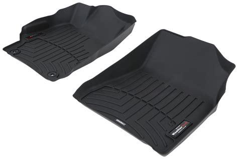 weathertech floor mats toyota highlander 2017 2017 toyota camry weathertech front auto floor mats black