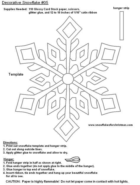 Snowflake Templates Writing Teachers