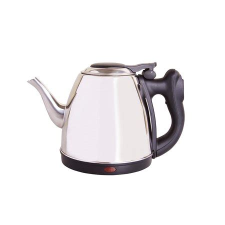 kettle electric tea coffee water cordless pouring stainless steel neck pot cup french goose 32oz boils shut precise quickly auto