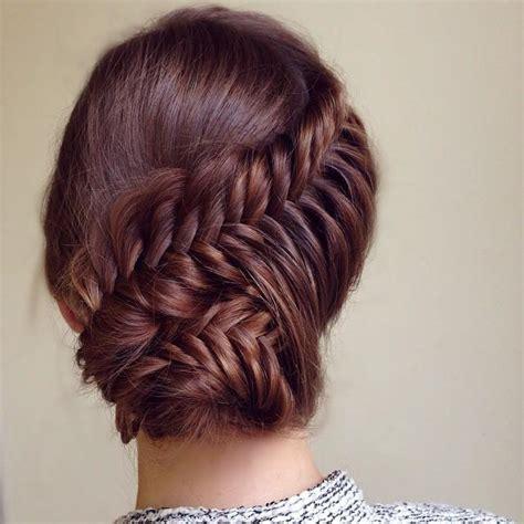 fishtail braid updo MEMEs