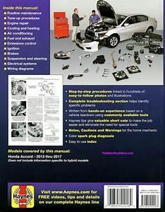 2013-2017 Honda Accord Repair Manual