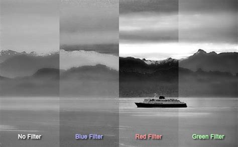 photographic filters  create  photographs