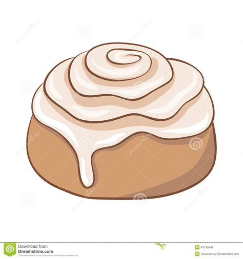 cartoon rolls cinnamon roll cartoon clipart clipart kid