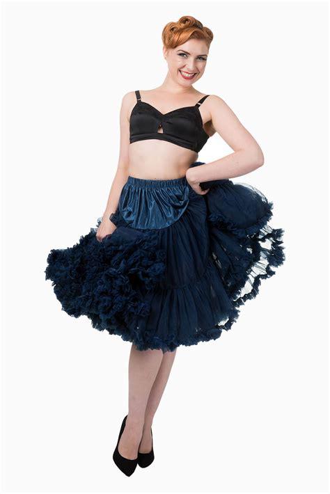 banned retro  lizzy lifeforms navy petticoat