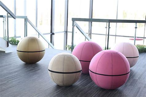 ballon chaise de bureau siège ballon ergonomique office ballz azergo