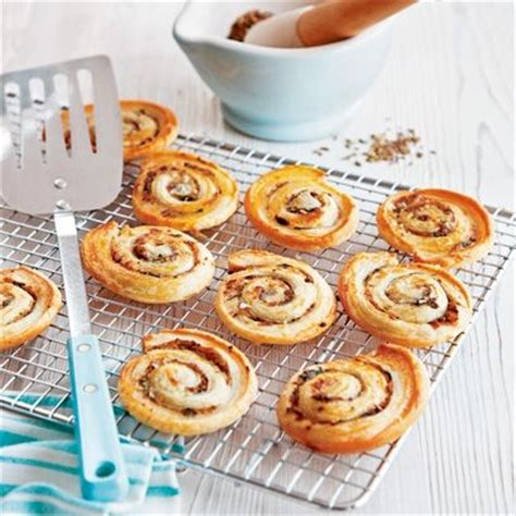 puff pastry canapes ideas these spiced palmiers are a crispy and spiced puff pastry