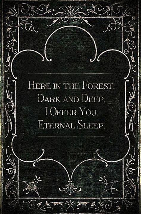vampire dark gothic love quotes quotesgram
