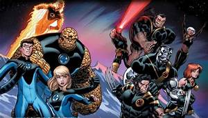 Fox Reportedly Planning Fantastic Four vs. X-Men Movie ...