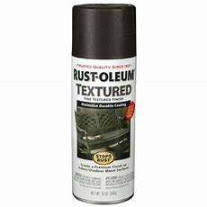 Rustoleum Stops Rust 12 Oz Textured Black Protective
