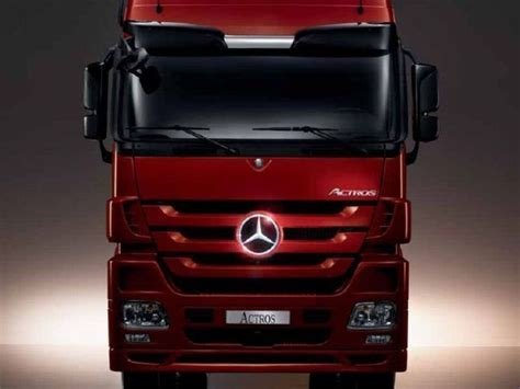 commercial mercedes benz actros