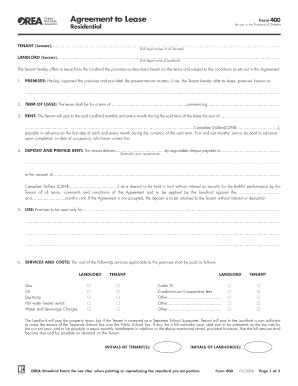 form 410 rental application ontario 2016 edit print fill out forms in word