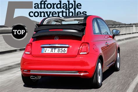 Top 5: Affordable convertibles