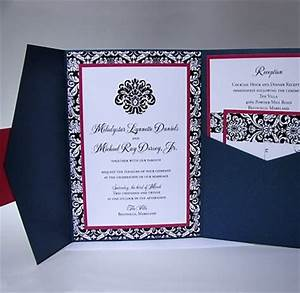 85 best wedding invitations images on pinterest invites With side pocket fold wedding invitations