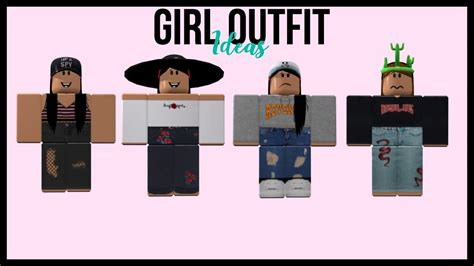 Roblox Clothes Ideas For Girls Mungfali
