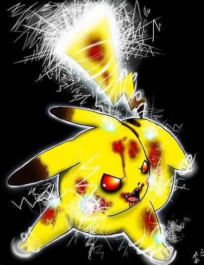 Pikachu Evil Pet Sparky Wallpapers Background Fanpop