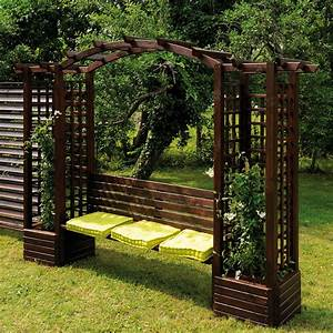 Pergola bois pour jardin