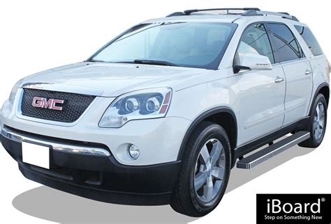 iboard running boards  fit   chevy traverse