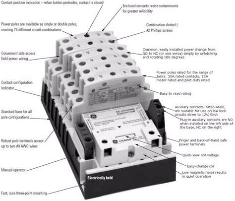 Lighting Contactor Wiring Diagram by Lighting Contactor Wiring Diagram Elec Eng World