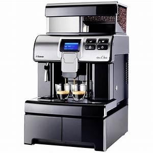 Meilleur Machine A Café Dosette : saeco aulika office noire machine caf grains avec ~ Melissatoandfro.com Idées de Décoration