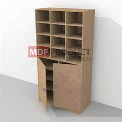 Mdf Cabinet by Mdf Cabinet With 3 Shelf Unit