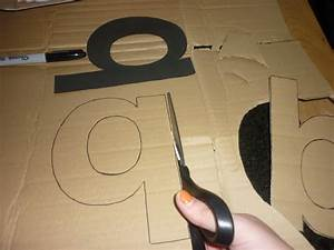 my type of decor diy 3d letters graphique fantastique With how to make giant 3d letters