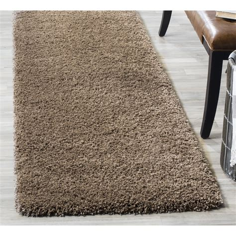 safavieh rug runners safavieh modern plush thick shag area rug soft fluffy