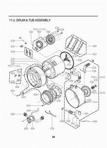 Lg Wm2016cw Parts List And Diagram   Ereplacementparts Com
