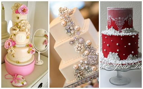 Top 30+ Cakes With Elegant Pearls  Page 16 Of 40