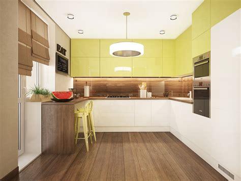 lime green kitchen doors смелостта да експериментираш с цветовете интериорен 7097