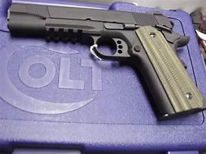 Colt 1911 Model 01980rg W   Vz Grips Govt W  Rail    For Sale