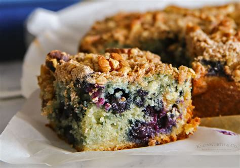 1 cup nonfat plain yogurt. Blueberry Coffee Cake - Kleinworth & Co