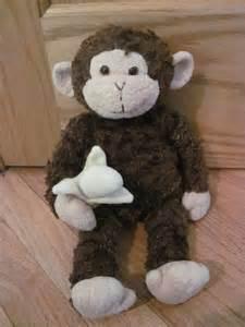 Gund Stuffed Monkey with a Banana