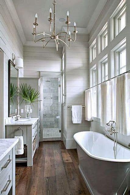 Chandelier Bathtub Code by 17 Best Ideas About Rustic Wood Floors On