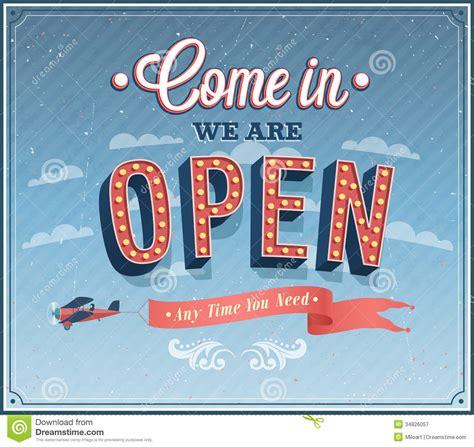open typographic design royalty  stock