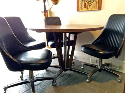 dining table with rolling chairs 60s kitchen blogs pictures and more on wordpress