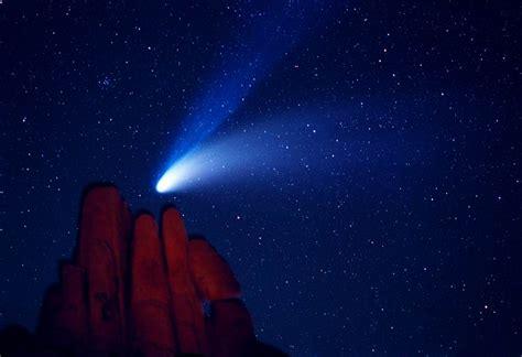 Comet Hale Bopp Seen Over Indian Cove Earth Blog