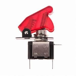 Interrupteur à Levier : interrupteur levier 12v led rouge capuchon ~ Dallasstarsshop.com Idées de Décoration