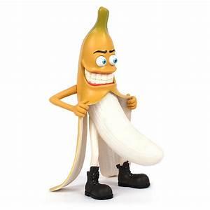 Evil bad banana person furnishing articles interesting