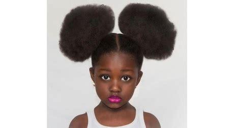coiffure enfant afro