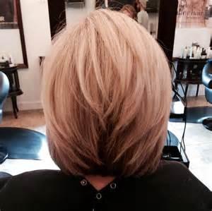 Medium Stacked Bob Haircut Hairstyle