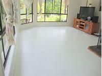 concrete painted floors Painted Concrete Floors – Paint Me White