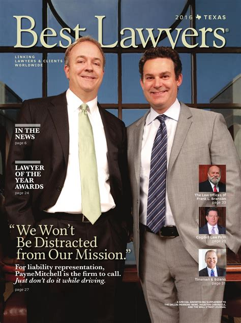 Best Lawyers in Texas 2016 by Best Lawyers - issuu