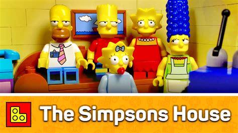 Lego The Simpsons House Animated Build (Дом Симпсонов) Stop Motion Review┃смотеть ЛЕГО 71006